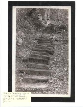 Steps to Unity Park